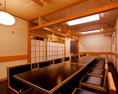 3~32名様まではいれる宴会個室!接待や大切なお祝いに最適な空間です。