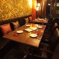 ★少人数×宴会★テーブルは繋げて最大10名様までOK!2名様~座れるテーブル席