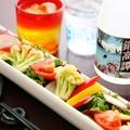 料理メニュー写真彩り三浦野菜の根菜サラダ  レギュラー