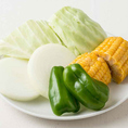 お肉だけでなくお野菜も♪焼野菜盛り合わせもございます。
