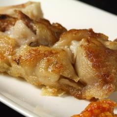 煮込み豚足のカリカリ焼き