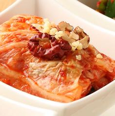 料理メニュー写真自家製 白菜キムチ/自家製 カクテキ(大根キムチ)