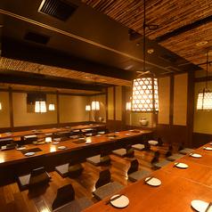 仙台駅徒歩1分で安心のアクセス!最大50名様で宴会ができる掘りごたつ個室が人気です。