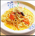 料理メニュー写真アーリオ・オーリオ・トマトのペペロンチーノ