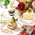 ケーキでかわいらしく演出☆