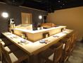 寿司屋を併設!鮮魚はもちろん、変わりダネも有り!それらをリーズナブルに提供してます♪