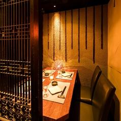 洗練された上質な大人の為の個室席は、お客様一人一人にゆったりとしたプライベートなお時間をご提供致します♪少人数様から団体様まで、人数様に合わせて広々個室席もご用意!各種ご宴会に最適◎