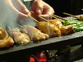 料理メニュー写真串焼き五本盛合せ