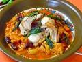 料理メニュー写真イタリア産うさぎのイスケア風
