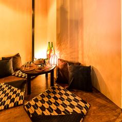 2名様からご利用可能な個室完備!八王子の景色を眺めながらこだわりのお食事を。