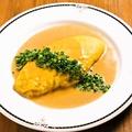料理メニュー写真ふわふわ濃厚ウニのオムレツ