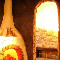 暖炉のようなおもてなし…不思議海峡ワールド