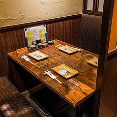 2~4名様 テーブル半個室