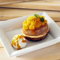 料理メニュー写真マンゴーのクロワッサンドーナツ
