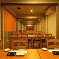 テーブル席や歓迎会や送別会に最適のお席です。お席のレイアウトもお気軽にお問合せ下さい。