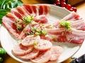 料理メニュー写真白帯3種盛り