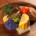 料理メニュー写真焼き野菜盛り