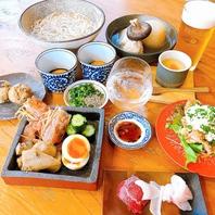 ご宴会向けコースは飲み放題付き7品6,000円(税込)~!