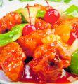 料理メニュー写真芝エビと季節の野菜炒め