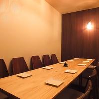 大人気のテーブル個室は少人数宴会や女子会にもおすすめ