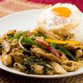 料理メニュー写真鶏肉のガパオライス