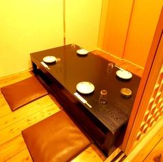 【1F】最大4名様までの掘りごたつ個室席です。