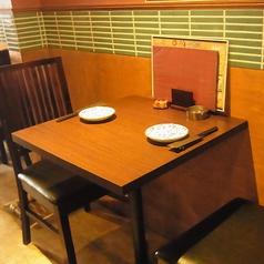 お席のレイアウトが自由なテーブル席も◎