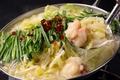料理メニュー写真もつ鍋(塩/醤油/味噌)