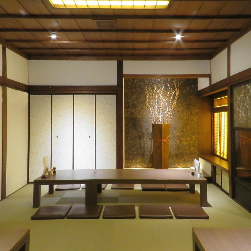 寛ぎの和室は新旧が融合するお洒落な空間