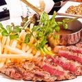 料理メニュー写真豪州産サーロインステーキ&チップス