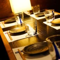 テーブル個室で・・・食べ飲み放題が人気!