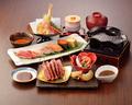 料理メニュー写真漢方和牛鉄板焼寿司御膳
