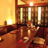 中団体向けのテーブル個室(個室NO3-4)