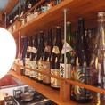 超厳選された日本酒をご用意!常時20種類以上の日本酒をご用意。定番の日本酒、貴重な日本酒、珍しい日本酒まであるので『日本酒が好き』『日本酒にはめがない』という方は必見。『日本酒デビューしてみようかな?』という方でも店舗スタッフがおすすめのお酒をご案内しますので気軽にお声かけ下さい。