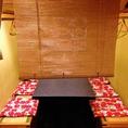 人気のテーブル半個室は2名~6名様でご利用いただけます!