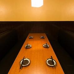 30名様前後の宴会でもフロア貸切可能です!他と独立したスペースになりますので、宴会を気兼ねなくお楽しみいただけます。[蒲田 蒲田駅 肉寿司 居酒屋 飲み放題 貸切 個室 肉 宴会 日本酒 お酒]