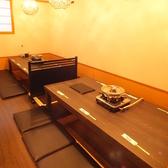 【2F】掘りごたつ個室は6/12/18/24・・・・最大60名様までOK!
