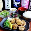 料理メニュー写真【ゴリラ名物】唐揚げ定食