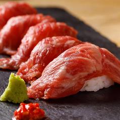 サーロインの炙り肉寿司