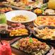 三種類の選べる安心の食べ飲み放題システム♪