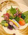 料理メニュー写真【人気No3】玄界灘の鮮魚とれたてお造り5種盛り合わせ