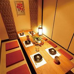 【4名様~6名様個室】おいしい食事とお酒で皆様で盛り上がりましょう♪※画像は系列店イメージです
