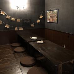 ゆったりくつろげる座敷席もご用意がございます♪宴会にプライベートでもみんなでワイワイ楽しく当店のビールをお楽しみください!