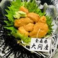 料理メニュー写真【ウニ刺し】下北