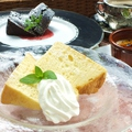 料理メニュー写真本日のシフォンケーキ