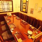テーブル個室 6名~10名まで(個室NO10)
