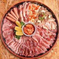 韓国苑得々焼肉セット