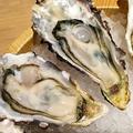 料理メニュー写真真牡蠣3種盛り合わせ