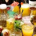 ハイボール、焼酎、地酒、ワインetc.…ドリンクも色んなジャンルをご用意!林檎酒やにごり杏露酒などの果実酒も有り☆