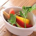 料理メニュー写真自家製!野菜ピクルス